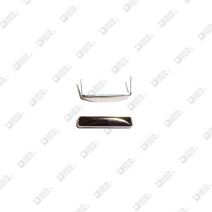 2529 JUMPER 22X5 MM WITH FINS IRON