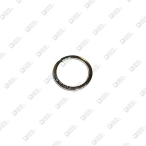 """11528/22/P FLAT BRISÉ RING 3921/22 """"MADE IN ITALY"""" IRON"""