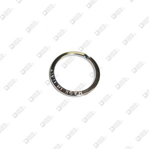 """11528/27 BRISÉ RING 3921/27 """"MADE IN ITALY"""" IRON"""