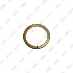 """11528/30 FLAT BRISÉ RING 30X38 """"MADE IN ITALY"""" IRON"""