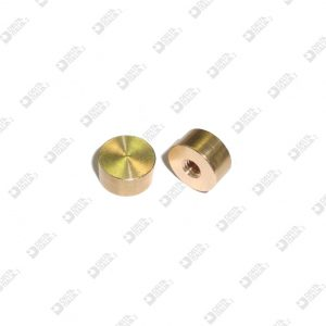 10709 ORNAMENT 11X5,5 MM 4 BRASS