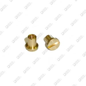 62375/F FEMALE TC 6X6,5 MM 2,6X5 MOLDED BRASS
