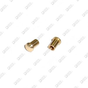 63168 ORNAMENT 4X6 MM 2,6 BRASS