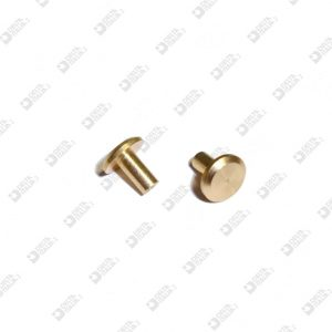 63410 BORCHIA FEMMINA 8X8 MM OTTONE