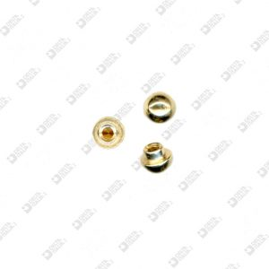 63483 ORNAMENT 6X5,5 MM 2,6 BRASS