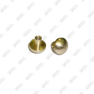 63506 ORNAMENT D. 10X9.5 MM 3 BRASS