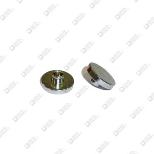 63512/3 BORCHIA FEMMINA 13X3 MM CON GOLA OTTONE