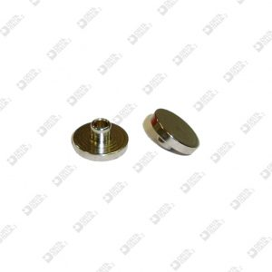63512/4 FEMMINA 13X4 MM CON GOLA OTTONE