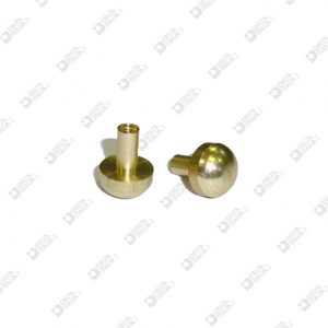63540/F FEMALE SCREW 10X13,3 STICK 4X8,2 MM BRASS