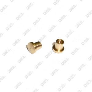 63593 ORNAMENT 5,6X5,5 MM 2,6 BRASS