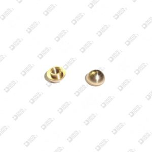 63874 ORNAMENT 6X4 MM 2,6 BRASS