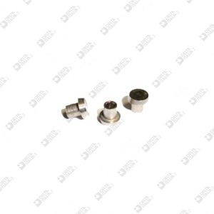 63943 SEMI-PERFORATED RIVET 4X1,1 TOT. 3,7 MM IRON
