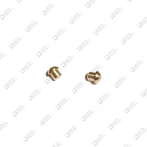 63984 BORCHIA 2,5X2,5 GAMBO 1,8X1,5 MM OTTONE