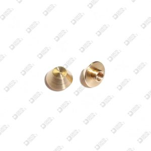 63988 ORNAMENT 9X5,8 MM 3 BRASS