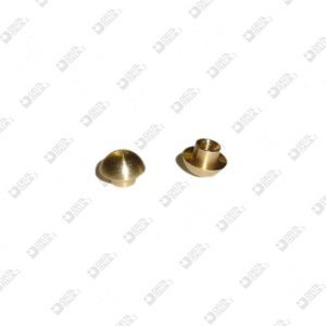 64106 ORNAMENT 7X5 MM 2,6 BRASS