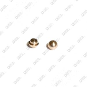 64972/1 MALE ORNAMENT 2,3X1,75 MM ECOBRASS