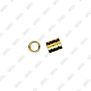 2468 COMPASS FOR GLASSES 4X5 HOLE 3 MM BRASS