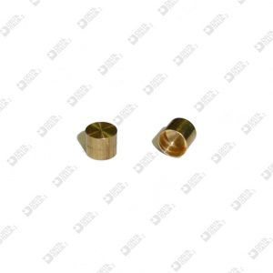 61028 BLIND COMPASS D. 5X4 HOLE 4,5X3,6 MM BRASS