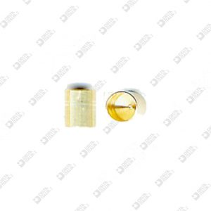 62556 COMPASS 5X6 WITH HOLE 4,5X5,6 MM BRASS