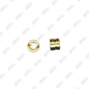 63502 COMPASS 5X4 MM 3 WITH STRIPE BRASS