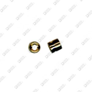 63529 COMPASS 4X4 MM 2 WITH STRIPE BRASS