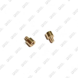 64067 COMPASS AGAINST THREADED 4X6,5 MM 2,6 + MM 2 BRASS