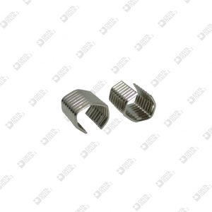 9445/12 STRIPED CLIP 10X12 MM IRON