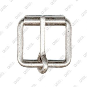 3380/50 ROLLER BUCKLE 50X42 WIRE 7,5 MM ROUND PRONG IRON