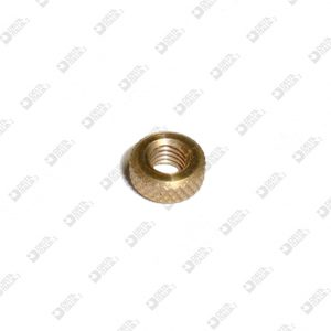 64981 KNURLED RING 9X4 MM 5 BRASS
