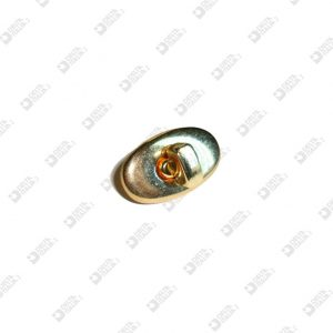 8167 OVAL LOCK 19X32 MM IRON