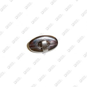 8168 OVAL LOCK 19X32 MM IRON