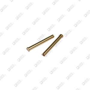 64092 PIN 4X28,3 STICK 3X27,5 WITH HOLE BRASS