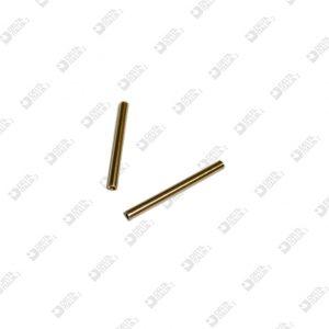 64453/35 SPINA 3X35 DOPPIA FILETTATURA M 2,5X4 INT. OTTONE