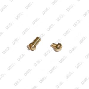62024 ROUNDED HEAD ORNAMENT 3,5X6,5 M2 SINGLE CUT BRASS