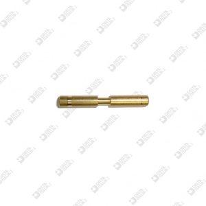 62351/32 PIN 4X32 WITH THROAT 2,5X4,5 BRASS