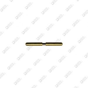 63530/41 PIN 4X41 WITH THROAT 2,9X4,1 BRASS