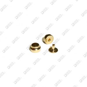 4579/P FOOT FOR BAG 9X5,5 BRASS