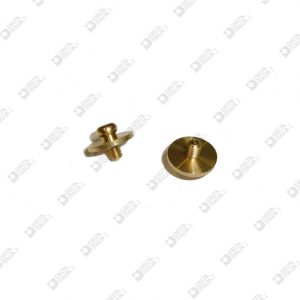 63864 STUD 10X7,8 M 3X3,5 SPHERE 4,6 FOR AUTOMATIC BUTTON BRASS