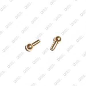 63535 STUD FOR BUCKLE 3,5X7,1 MM BRASS