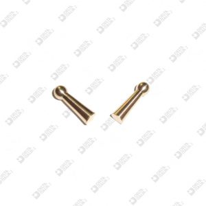 64103 STUD FOR BUCKLE MM 4X13,5 BRASS