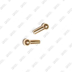 64505 STUD FOR BUCKLE 3,7X8,5 STICK MM 2,2 BRASS