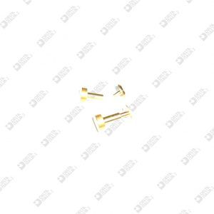 62648/P COMPLETE FOOT FOR BAG 8X8 BRASS