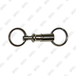 11011 KEY HOLDERS REASABLE WITH BRISÉ RING BRASS