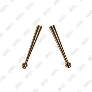 2843 PENDANT FOR TIES 6,5X50 HOLE 5  BRASS