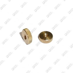 63715 KNURLED WASHER 10X3 MM 3 BRASS