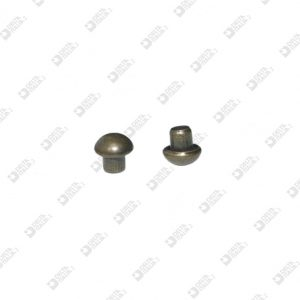 9715/T HEAD RIVET HALF BALL 032 D. 5,5 BRASS