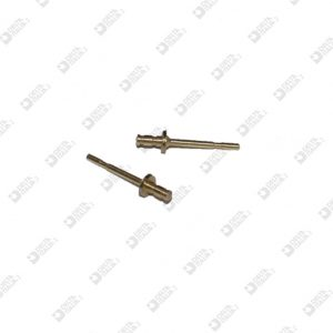 2485 PIN FOR EARRING MM 3X14 BRASS