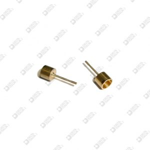 2561 PIN FOR EARRING 5X14 MM WITH SEAT D. 4 BRASS