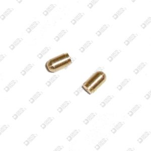 63608 PIN 2X3,5 WITH FALL BRASS