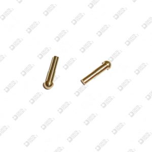 64292/10,8 PIN 3X10,8 STICK LOWERED 2X5 BRASS